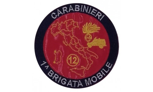 Patch Carabinieri 1^ Brigata mobile